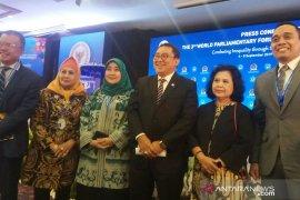 """Pertemuan parlemen sedunia hasilkan """"Bali Roadmap"""""""