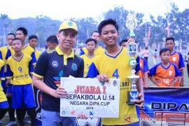 Almien tutup Turnamen Negara Dipa Cup U14