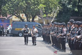 Polda Jambi kirim lagi personel Brimob ke Papua susul 250 anggota terdahulu