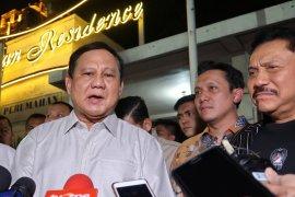 Bertemu Hendropriyono,  Prabowo Subianto bincangkan pemulihan Papua