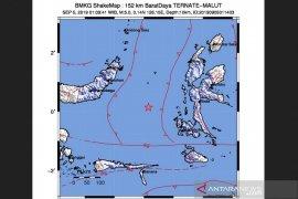 Provinsi Maluku diguncang gempa dua kali