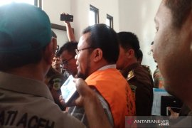 Mantan Wali Kota Sabang ditahan terkait korupsi pengadaan  tanah