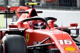 Charles Leclerc amankan pole position GP Italia