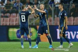 Bosnia kalahkan Liechtenstein 5-0 di kualifikasi Piala Eropa 2020
