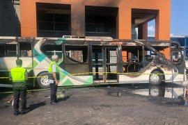 Kasus bus terbakar di Bandara Ngurah Rai diinvestigasi Kemenhub
