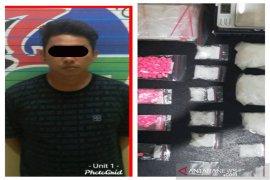 Pengedar narkoba diringkus Satresnarkoba Polresta Banjarmasin