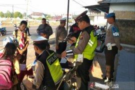 Polres Bangka Selatan jaring 329 pelanggar lalu lintas