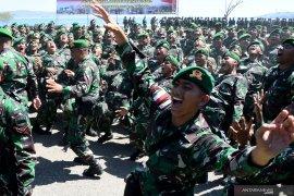 Pangdam Udayana lantik 375 prajurit Tamtama TNI AD