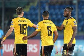 Belgia masih sempurna usai berpesta empat gol di San Marino