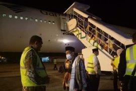 Tiba di Aceh, dua jamaah kloter-4 harus dirawat di klinik asrama haji
