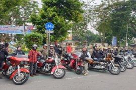 Touring Kemerdekaan HDCI Sumut singgah di Tebing Tinggi