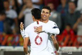 Portugal bukukan kemenangan perdana dalam kualifikasi Piala Eropa 2020
