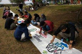 Komunitas Fossil Free Bengkulu dorong pengembangan energi terbarukan