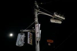 Lampu jalan umum di Dumai sering mati. Ini komentar warga