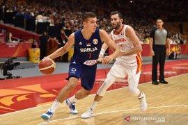 Reaksi berbeda buat Bogdanovic dan Jokic saat Spanyol kalahkan Serbia