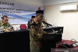Bupati Nagan Raya Aceh minta anggota dewan baru kritik sesuai  fakta