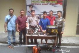 Terlibat pencurian, mekanik bengkel di Rejang Lebong ditangkap polisi