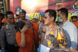 Empat pengedar narkoba jenis sabu dibekuk Polres Cirebon