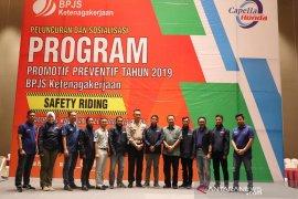 30 persen kecelakaan kerja di Riau disebabkan lakalantas
