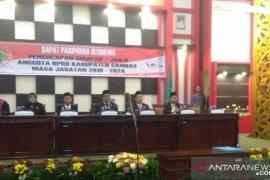 45 anggota DPRD Sambas periode 2019 - 2024 resmi dilantik