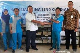 Jasa Raharja Babel salurkan bantuan pendidikan untuk SMK Yapensu