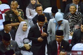 Bupati hadiri pelantikan DPRD Kalsel periode 2019-2024