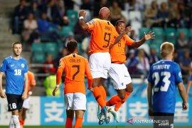 Belanda menang 4-0 di Estonia