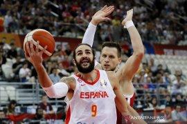 Rubio pecahkan rekor assist saat bantu Spanyol