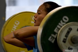 10 lifter Indonesia diturunkan di SEA Games