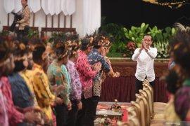 Papua Terkini- Presiden Jokowi terima tokoh Papua di Istana