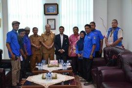 Wali Kota terima audensi Karang Taruna Tebing Tinggi
