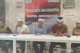 Tolak revisi UU KPK, Kopel Indonesia ingin bertemu Presiden Jokowi