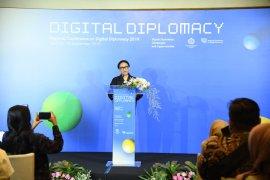 Menlu membuka Konferensi Regional Diplomasi Digital