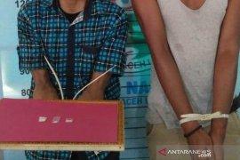 Polisi Aceh Utara tangkap dua pemuda Medan terkait sabu