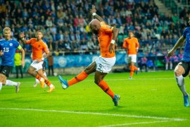 Ryan Babel cetak dua gol perdana untuk timnas Belanda