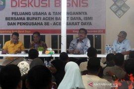 Ratusan pengusaha barat-selatan diskusi bisnis di Abdya