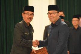 Ridwan Kamil lantik Daud Achmad sebagai Penjabat Sekda Jabar