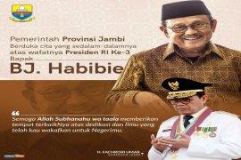 Habibie Wafat - Gubernur Jambi sampaikan duka mendalam