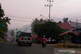 Kabut asap makin tebal, Solok Selatan lakukan pengujian kualitas udara