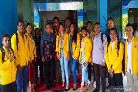 Pesan damai  mahasiswa Papua di Kalsel