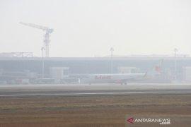 Bandara Terpapar Kabut Asap