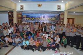 Papua Terkini - Kapolda Maluku dan mahasiswa Papua dan Papua Barat di Ambon jalin silaturahim