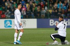 Ronaldo cetak empat gol saat Portugal kalahkan Lithuania 5-1