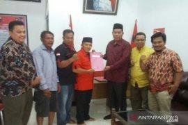 Rizal Munthe mendaftar sebagai balon Bupati Labura ke PDI Perjuangan
