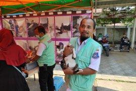 Puskeswan Tangerang Selatan vaksinasi rabies di tujuh kecamatan