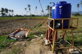 Air sumur untuk Irigasi pertanian