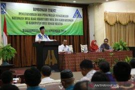 Bupati HSS buka bimtek penatausahaan dan pengawasan pengelolaan keuangan desa