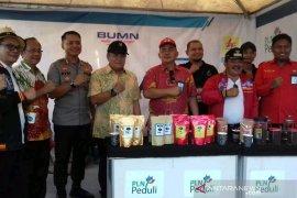 Rumah Kreatif PLN hadir pada Festival Kopi Nusantara Gunungsitoli