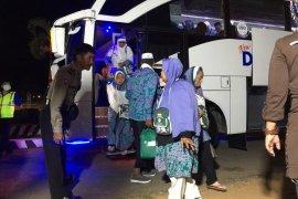 Jamaah haji  asal Lampung wafat saat perjalanan pulang di pesawat