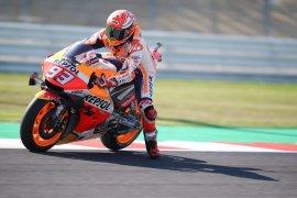 Marc Marquez nilai Yamaha sangat cepat di Sirkuit Misano